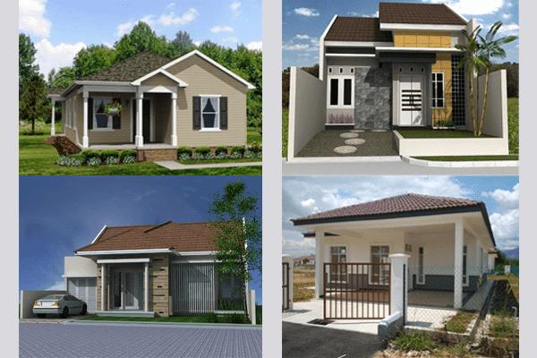 Rumah Sederhana Terlihat Mewah dan Modern