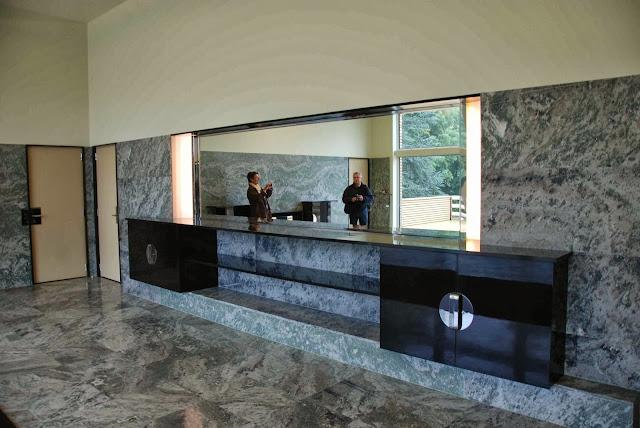 le blog des amis de la villa cavrois la salle manger des parents. Black Bedroom Furniture Sets. Home Design Ideas