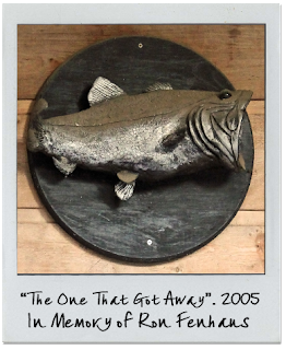 Bass Fish Sculpture