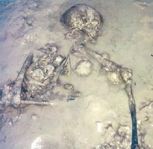 Remains found on Isle of Wight beach belong to Iron Age woman