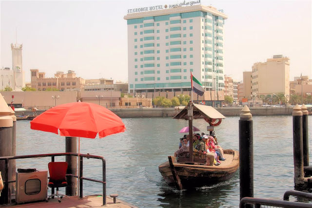 Abra Wassertaxi Dubai (C) JUREBU