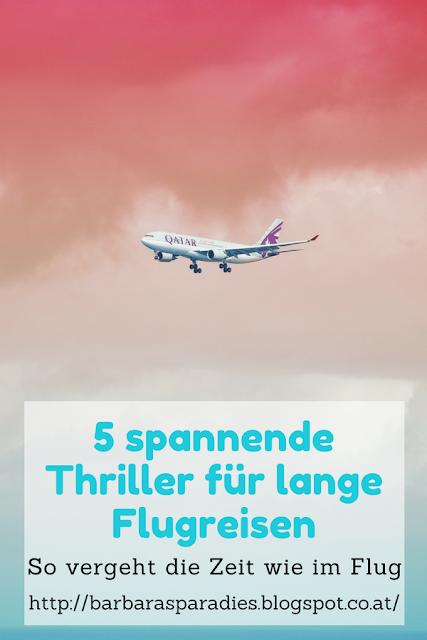 5 spannende Thriller für lange Flugreisen: So vergeht die Zeit wie im Flug