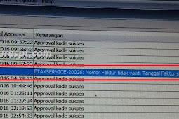 Solusi Upload Faktur Pajak Masukan Reject Error ETAXSERVICE-20026 Nomor Faktur Tidak Valid