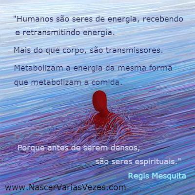 O ser humano é energia