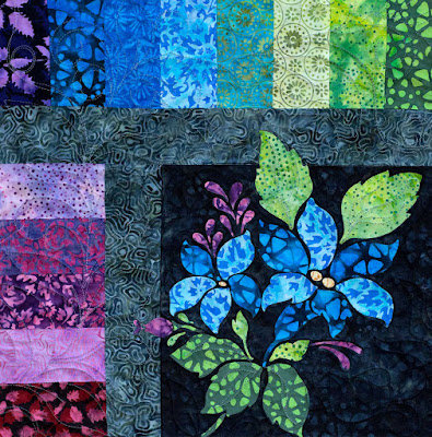 Enchanted Garden Block of the Month Shabby Fabrics