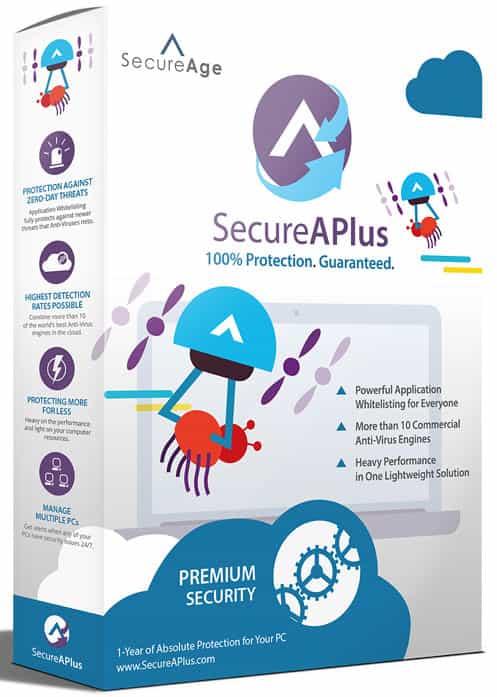 SecureAPlus Premium Key bản quyền 18 tháng miễn phí