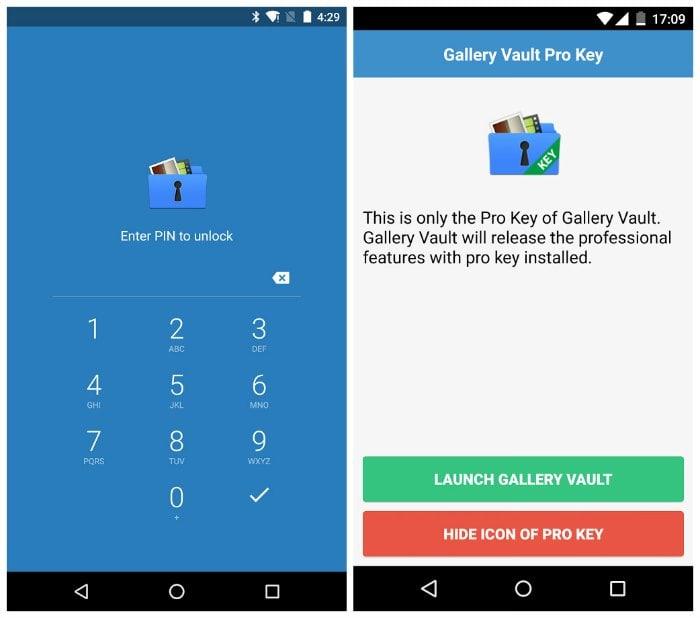 Descargar gallery vault pro key apk gratis