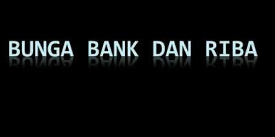 Apakah Bunga Bank Termasuk Riba