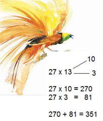 mental multiplication of large numbers