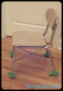 Teach It With Class Table Baskets Amp Chair Feet