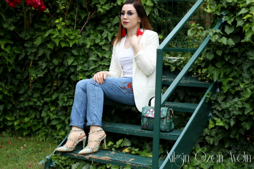 Nakışlı Jean-moda blogu-fashion blogger
