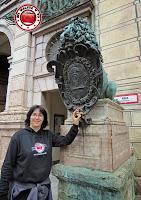 Munich - leones en la Residenz