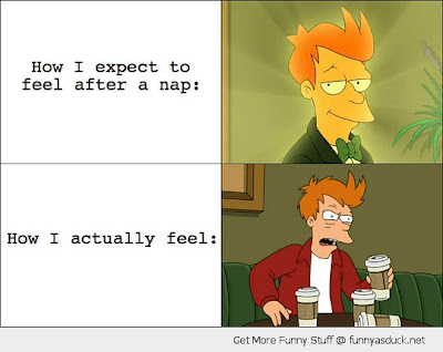 Fry and his coffee funny Futurama sketch