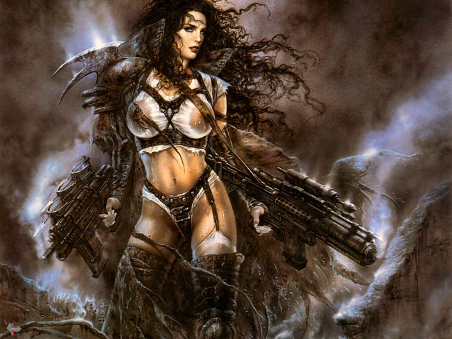 Concurrence fantasy warrior girl for that