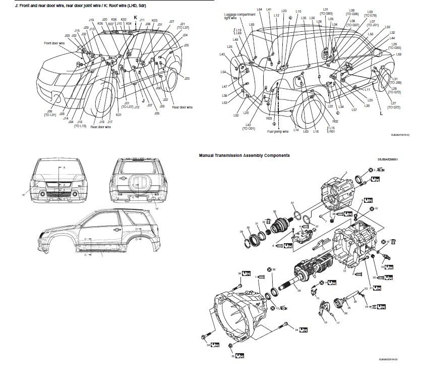 Manuales de mecánica y taller URUGUAY: Suzuki Grand Vitara