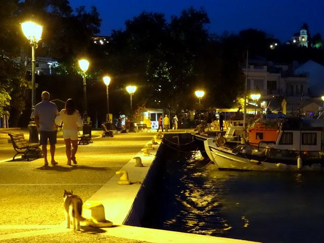 Old Port in Skiathos Island, Greece