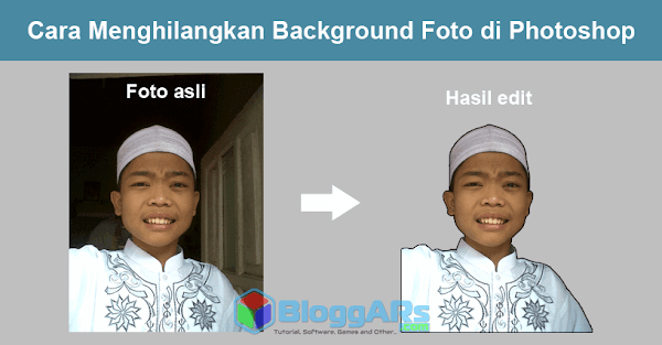 Cara Menghilangkan Background Foto di Photoshop