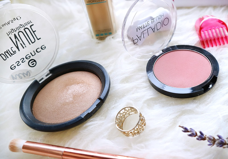 Essence Pure Nude Highlighter and Palladio Matte Blush