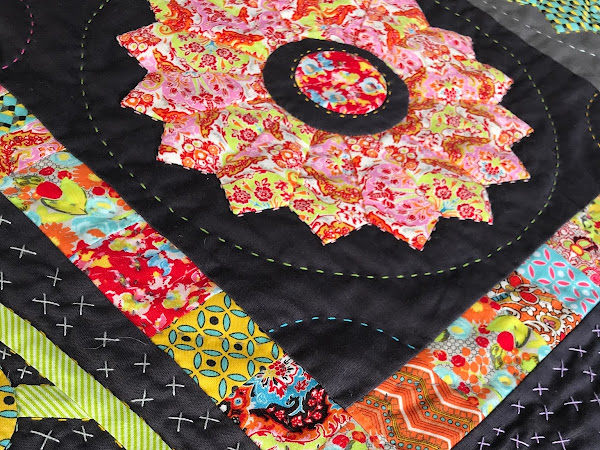 QUILTING: Bittersweet Symphony Quilt {another progress post}