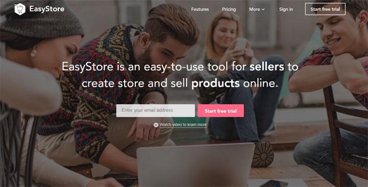 Bina Kedai Online Lengkap Dengan EasyStore
