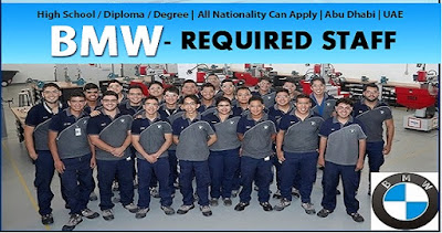 Job Vacancies at BMW Abu Dhabi Motors