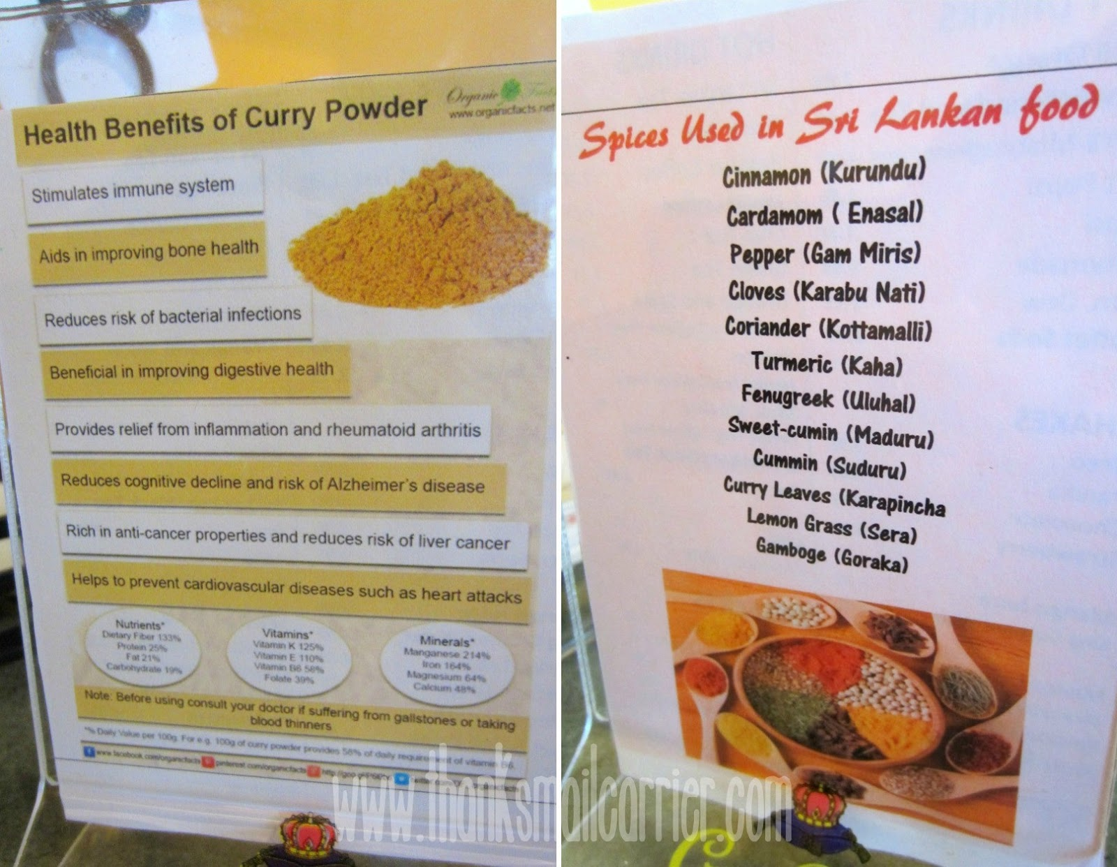 health benefits of curry