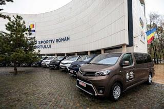Toyota Romania si Comitetul Olimpic si Sportiv Roman
