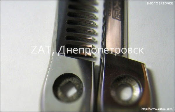Днепр. Профессиональная заточка парикмахерских ножниц