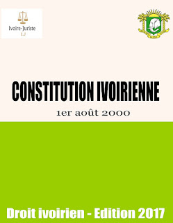Constitution Ivoirienne du 1er août 2000