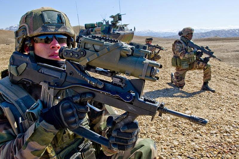 La voie de l 39 p e la section d 39 infanterie comme priorit for Caracteristique anglais