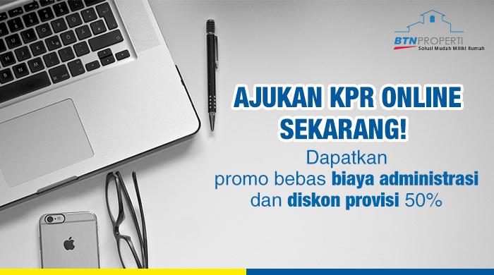 cara melakukan pengajuankpr online bank btn online