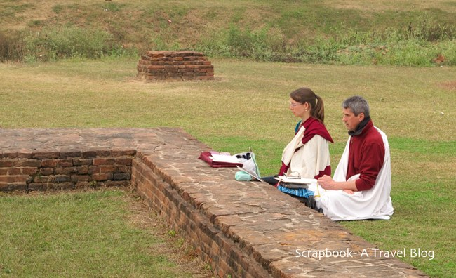 Nalanda Ancient University Bihar India