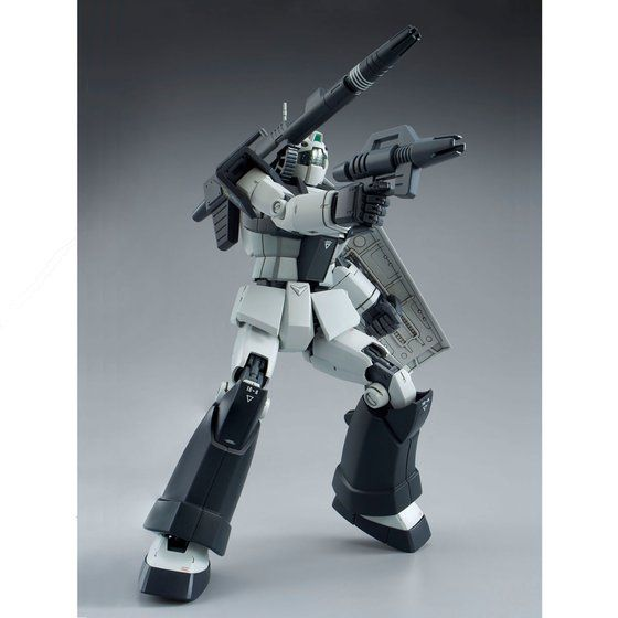 P-Bandai: MG 1/100 RGC-80 GM Cannon [White Dingo Colors]