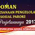 Pedoman Pelaksanaan Pengelolaan Dana Sosial Paroki dan Penjelasannya 2017