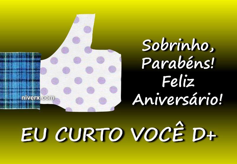 Feliz Aniversario Sobrinho Bz93 Ivango