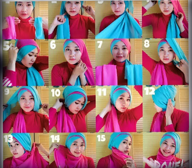 i. Tutorial Hijab Kreasi