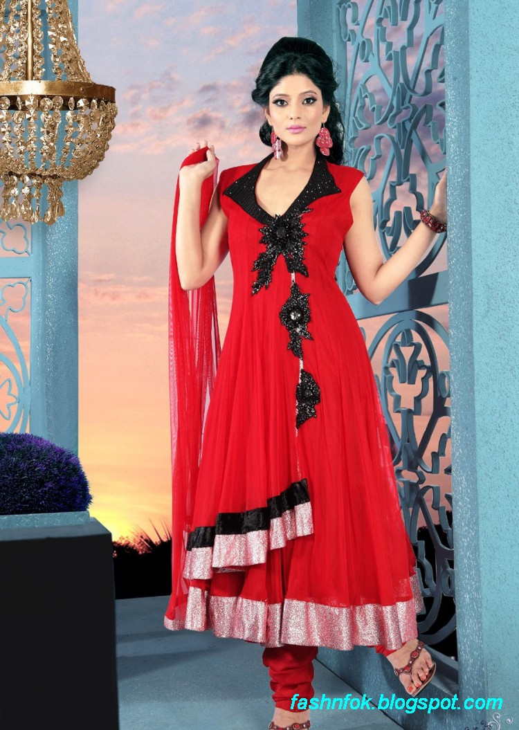 Fashion Amp Fok Anarkali Fancy Umbrella Frocks Anarkali
