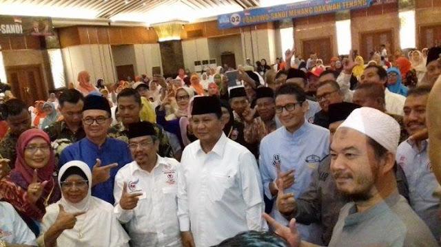 Prabowo: Saya Dan Pak Sandi Hanya Alat Untuk Rakyat