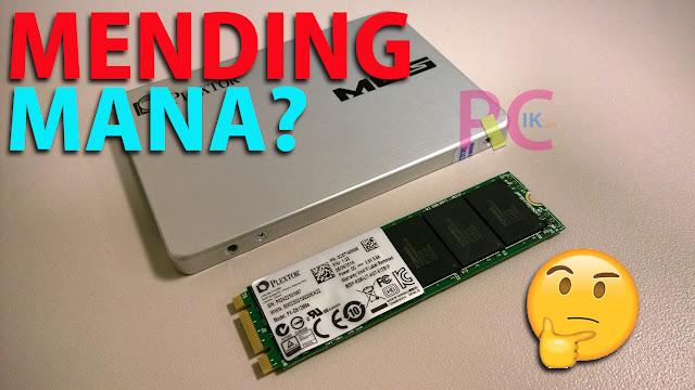 Mana yang Lebih Bagus, SSD 2.5 Inchi atau SSD M.2? Terus Apa Perbedaan Serta Kelebihannya? Simak 4 Point Berikut!