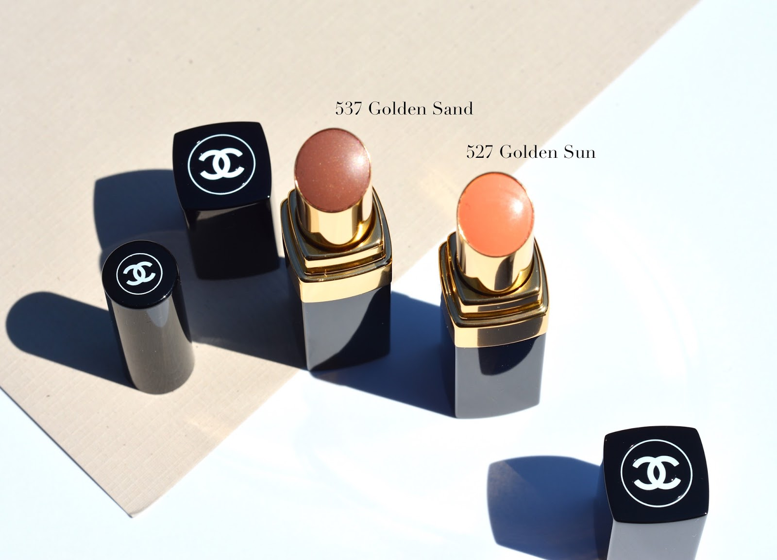 chanel summer 2017 cruise collection makeup review swatches rouge coco shine golden sun golden sand