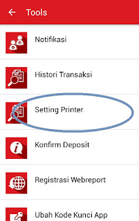 Menu baru unitedtronik setting printer bluetooth