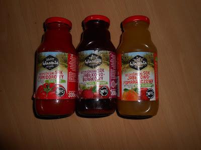 Sady Wincenta- soki w butelkach 330 ml