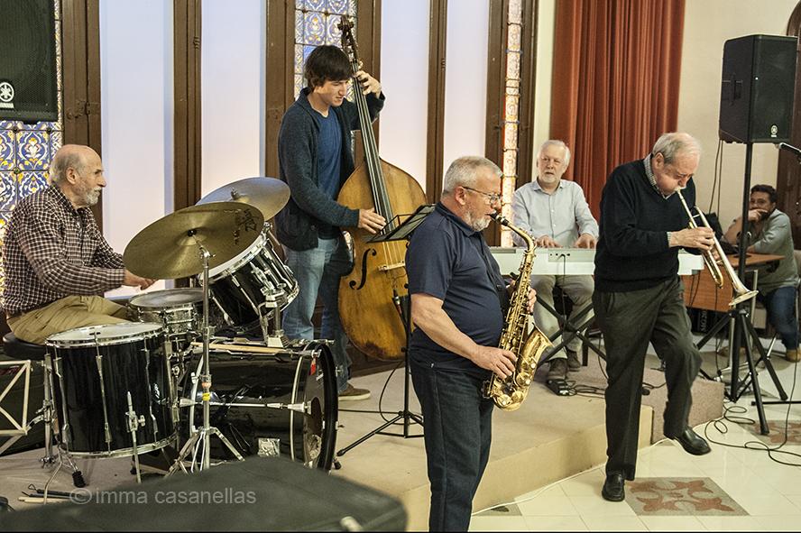 Adrià Font, Xavi Carbó, Joan Albert, Ignasi Terraza i Josep Maria Farràs