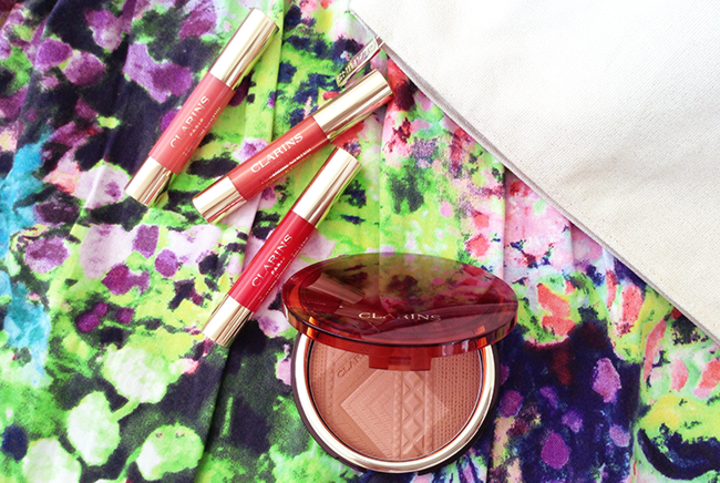 Clarins Colours of Brazil collection beauty blog review