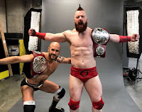 WWE - Cesaro y Sheamus por pareja y Charlotte se coronaron en el último evento del año, Roadblock: End of the Line