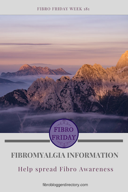 Fibro Friday link up week 181