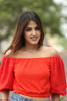 Rhea Chakraborty in Red Crop Top and Denim Shorts Spicy Pics ~  Exclusive 218.JPG
