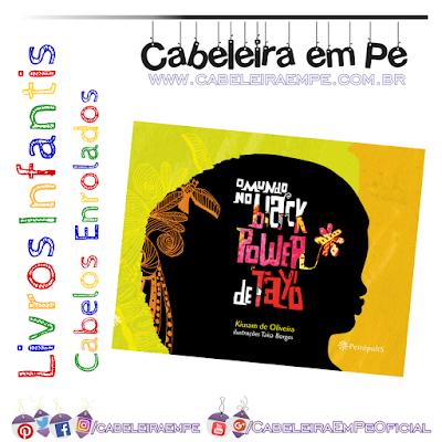Cabelo crespo livrinho para Criança O Mundo no Black Power de Tayó - Kiusam de Oliveira