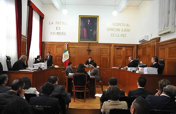 Magistrados del Poder Judicial se aprueban pensión vitalicia de 130 mil pesos mensuales.