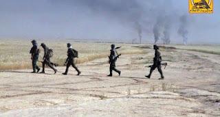 قوات الحشد الشعبي والشرطة الاتحادية يصلان إلى مشارف حي الوحدة بتلعفر